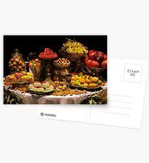 Christmas Table Postcards
