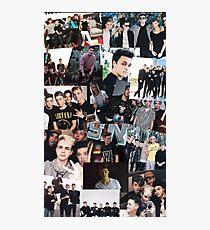 WDW Collage Photo Photographic Print