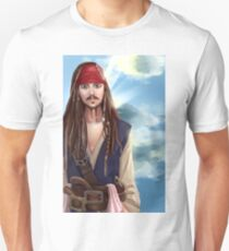 Captain Jack Sparrow - Pirates of the Carribean Unisex T-Shirt