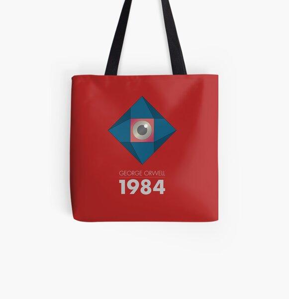 George Orwell Stofftasche Stoffbeutel VINTAGE INGSOC LOGO 1984 HIPSTER BAG
