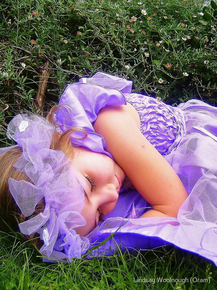 Sleeping Angel by Lindsay Woolnough (Oram)