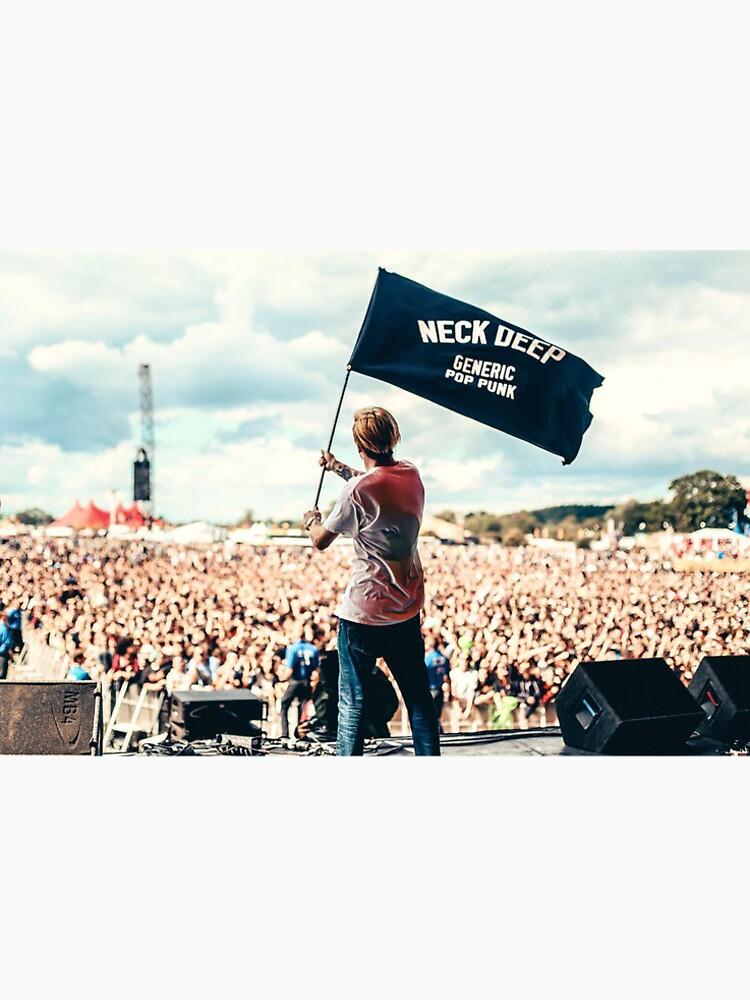 Ben Barlow Neck tiefe Flagge von cocainecoleman