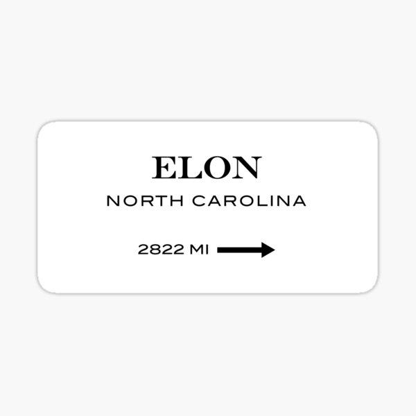 Elon Pegatina