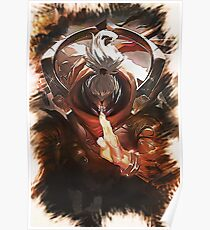 League of Legends GOD STAFF JAX Poster