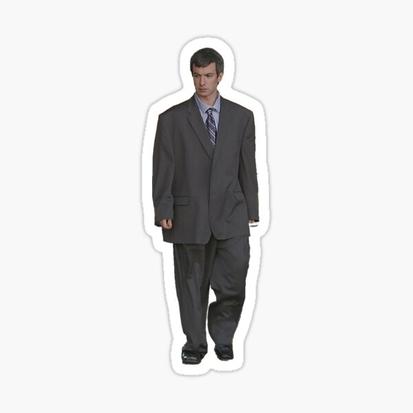 NATHAN FOR YOU BIG SUIT (buy from me not that other guy) Sticker