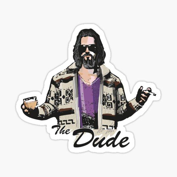 The Dude (the big lebowski) Sticker