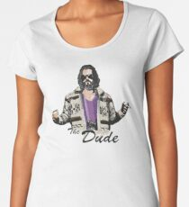 The Dude (the big lebowski) Women's Premium T-Shirt