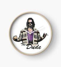 The Dude (the big lebowski) Clock