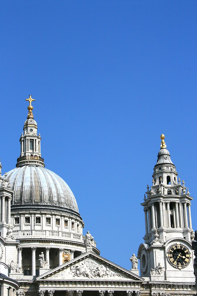 St Pauls Cathedral, London by Jenni Tanner