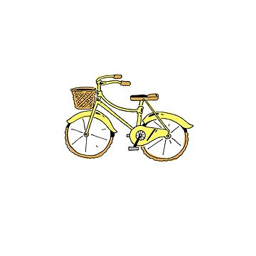 Bike yellow by NoahDenten