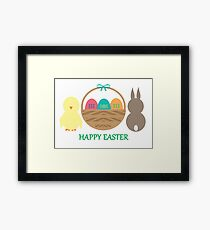 Easter Basket  Framed Print