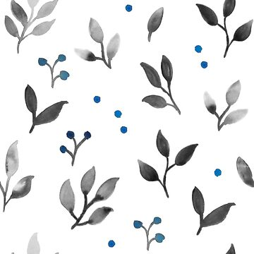 Watercolour seamless floral pattern by ychty