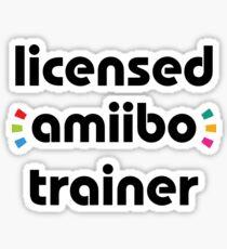Licensed amiibo trainer Sticker
