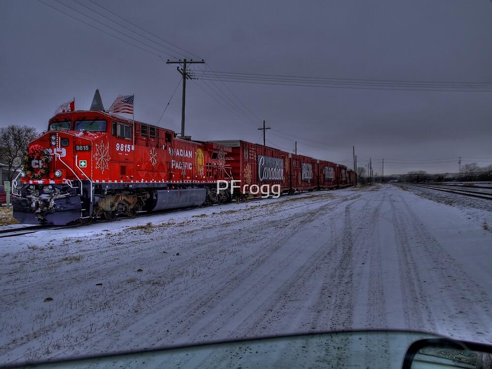 CP  Christmas Train 2008  by PFrogg