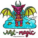 Rest on Magic - Dragon - Animals of Inspiration series by mellierosetest