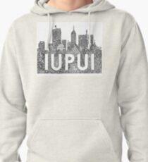 IUPUI/Indy Skyline Zentangle  Pullover Hoodie