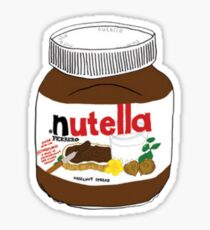 Nutella Drawing Sticker