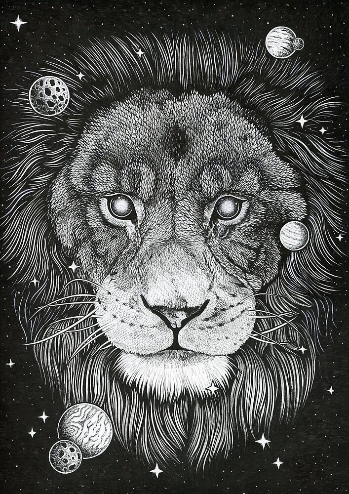Space carnivore. by zarydoesart
