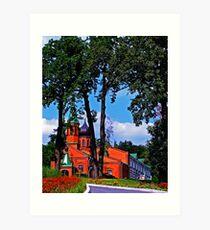 Convent Art Print
