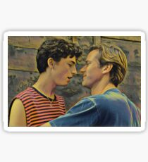 Call Me By Your Name Painting Sticker