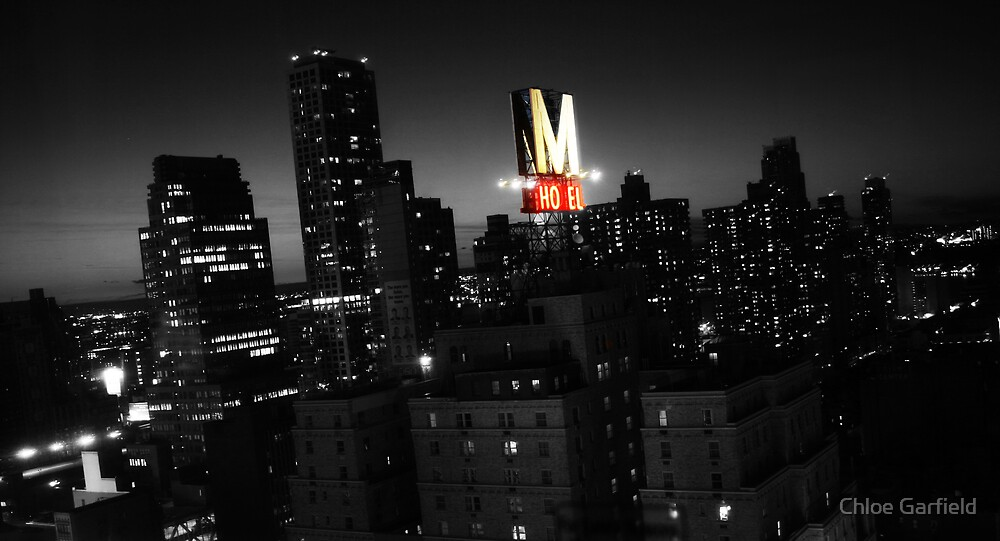 NYC at Night by Chloe Garfield