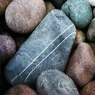 Pebbles and Stones, beach, Eskdale, Cumbria,  by beanphoto