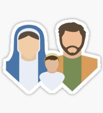 The Holy Family Sticker