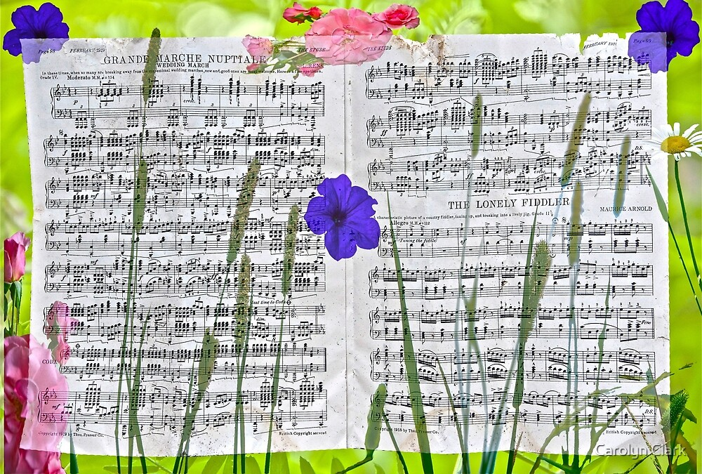 My Grandmother's Music by Carolyn Clark