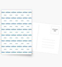 Coinbase - Crypto Destination Art - New Generation Fashion (Small) Postcards