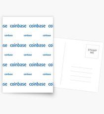 Coinbase - Crypto Destination Art - New Generation Fashion (Large) Postcards