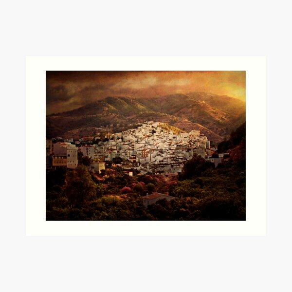 Tolox, Andaluce Art Print