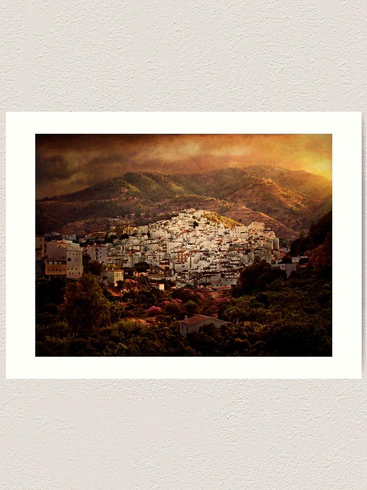 Alternate view of Tolox, Andaluce Art Print