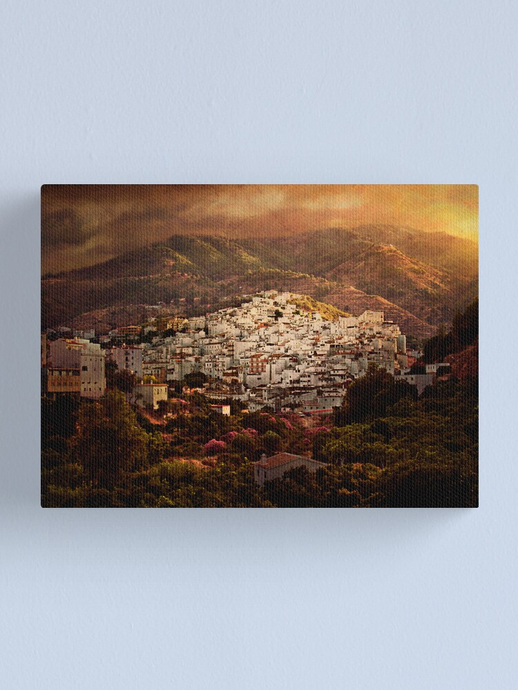 Alternate view of Tolox, Andaluce Canvas Print