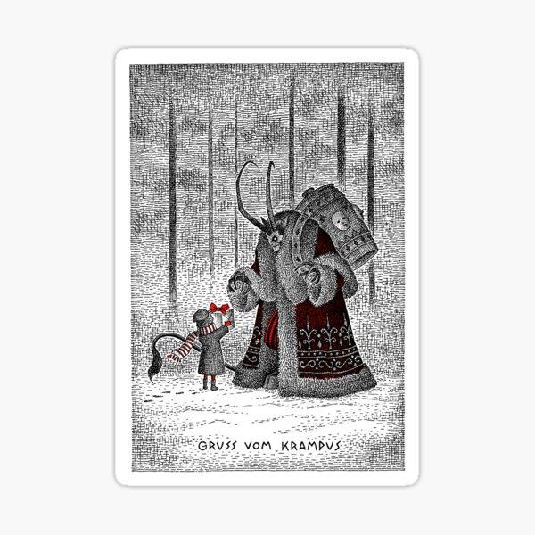 A Gift For Krampus Sticker