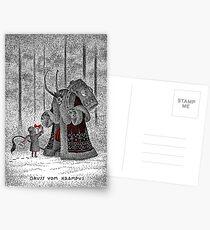 A Gift For Krampus Postcards