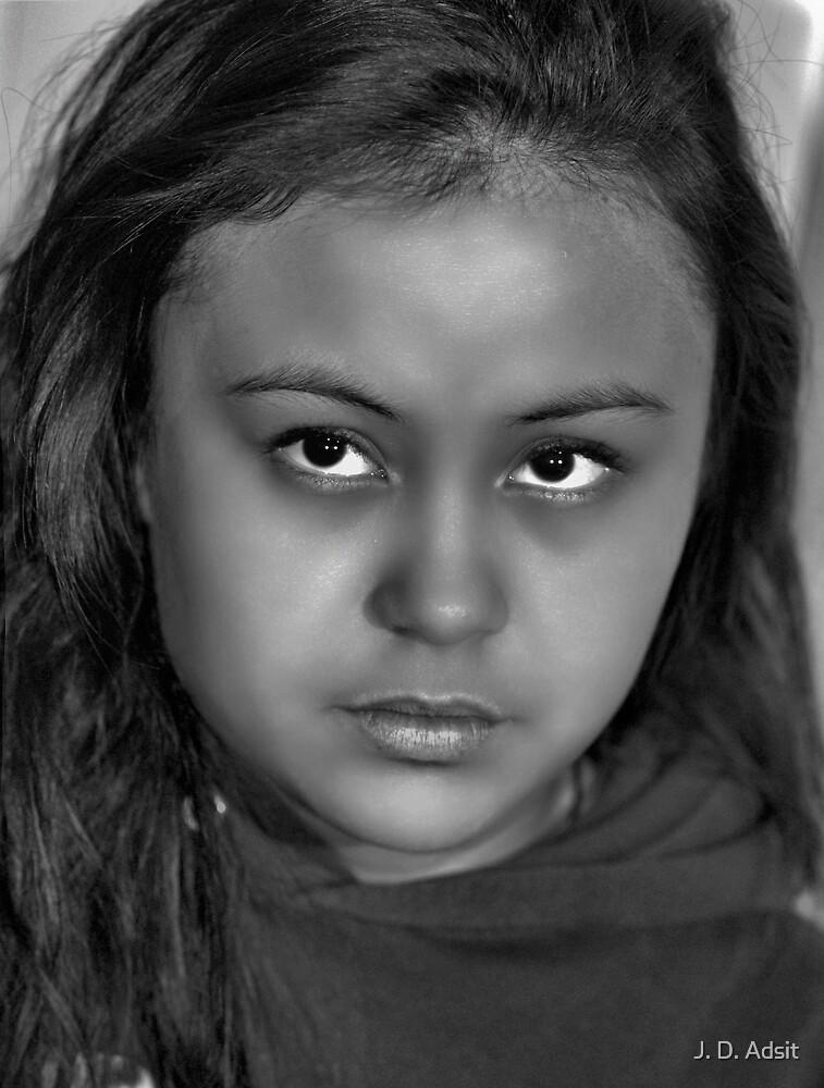 Girl Uncertain by J. D. Adsit