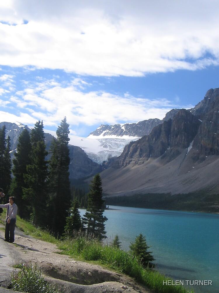Lake Louise Canada by HELEN TURNER