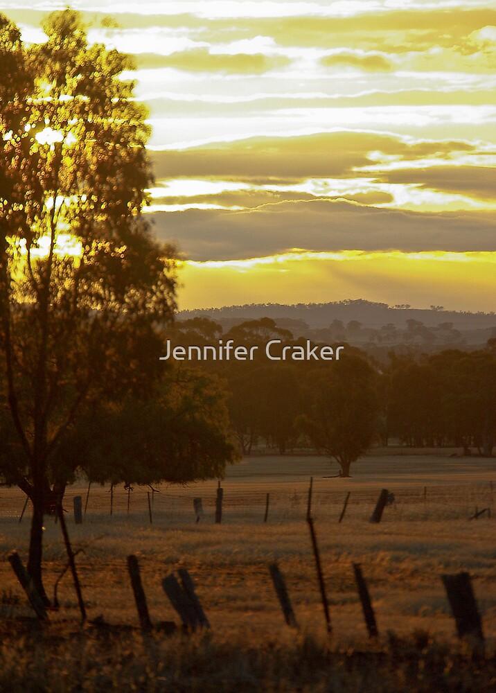 Sunset at St Arnaud by Jennifer Craker