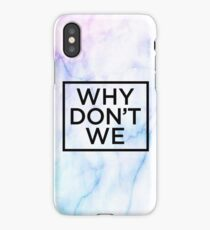 Why Don't We Marble iPhone Case/Skin