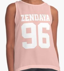 Zendaya Contrast Tank
