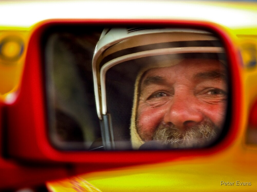 Rally Driver Reflection by Peter Evans