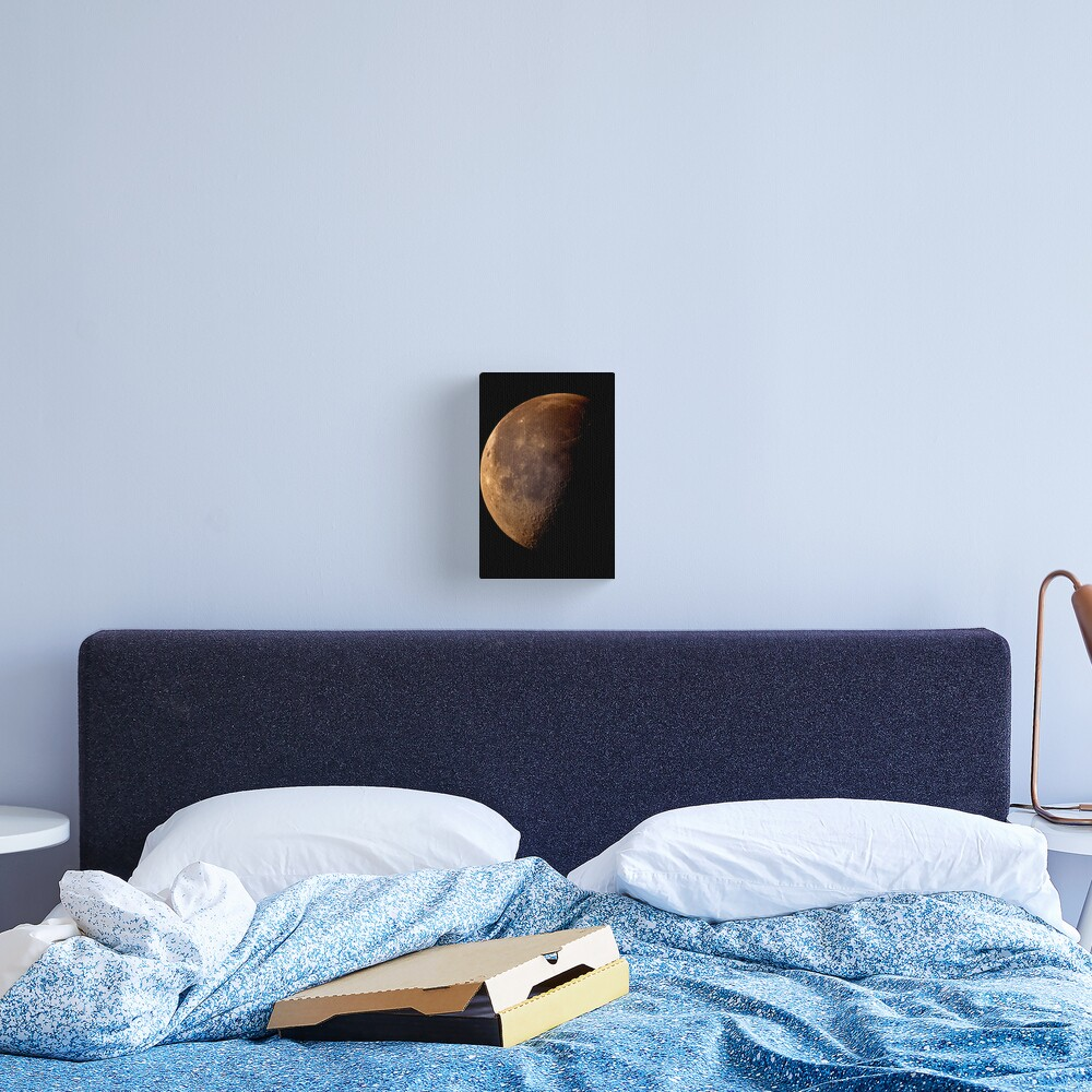 sunday moon Canvas Print