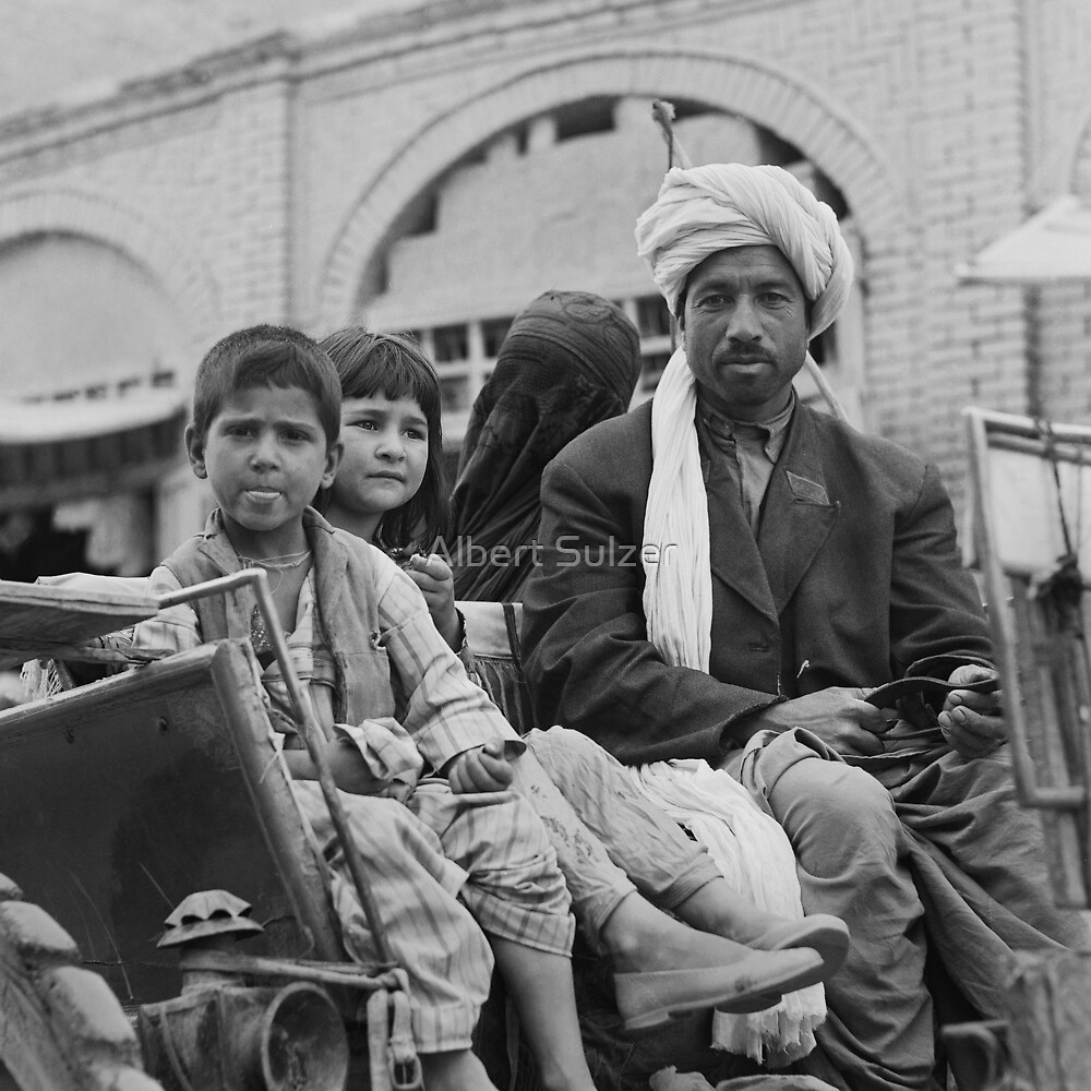 'Family Outing'- Afghani Style by Albert Sulzer