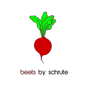 beets by schrute by AngelinaKovale