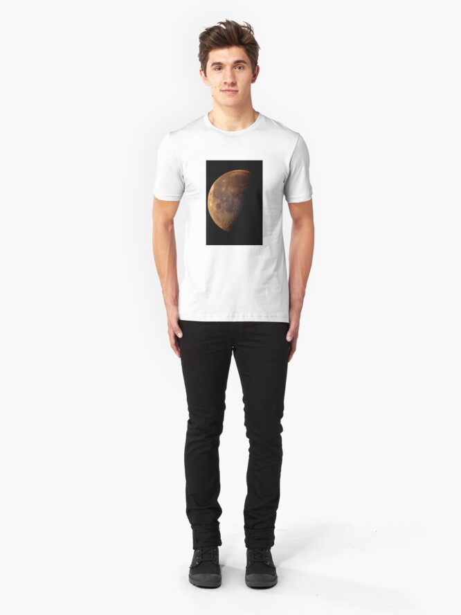 Alternate view of sunday moon Slim Fit T-Shirt