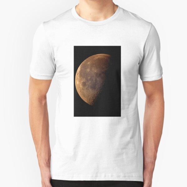 sunday moon Slim Fit T-Shirt