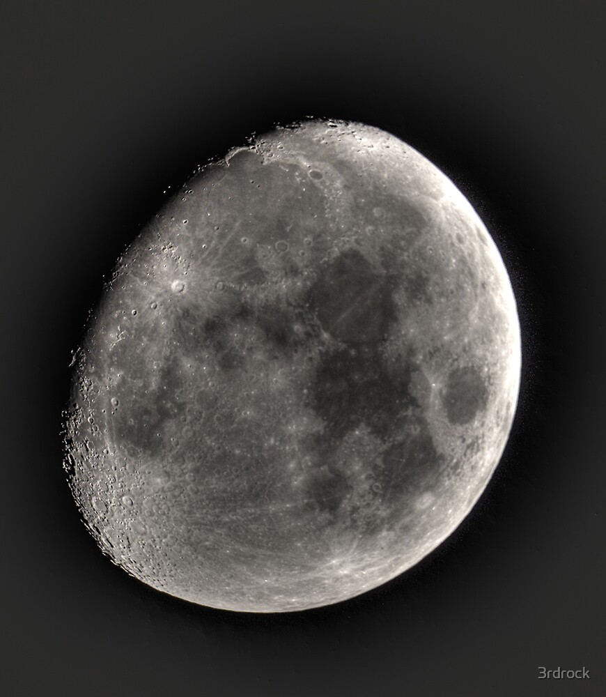 moon in HDR by 3rdrock