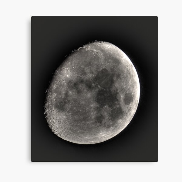 moon in HDR Canvas Print