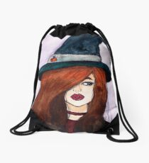 Modern Witch  Drawstring Bag