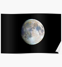moon in colour Poster